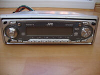 JVC car stereo. 50 watts x 4. With remote.