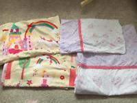 Toddler duvet covers x2