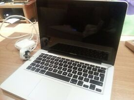 "Apple Macbook Pro 7,1 Mid 2010 Laptop 13"" 256GB 4GB Silver"