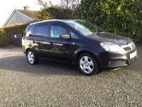 Vauxhall zafira 1.6 7 seater long mot excellent condition for year cookstown