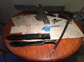 Antique Militaria Military Items Wanted.