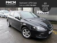 SEAT LEON 2012 1.2 TSI S COPA 5d - JUST SERVICED - LONG MOT - golf focus a3 family car low tax 2012