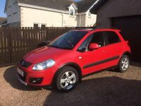 Suzuki SX4 diesel car, lovely condition