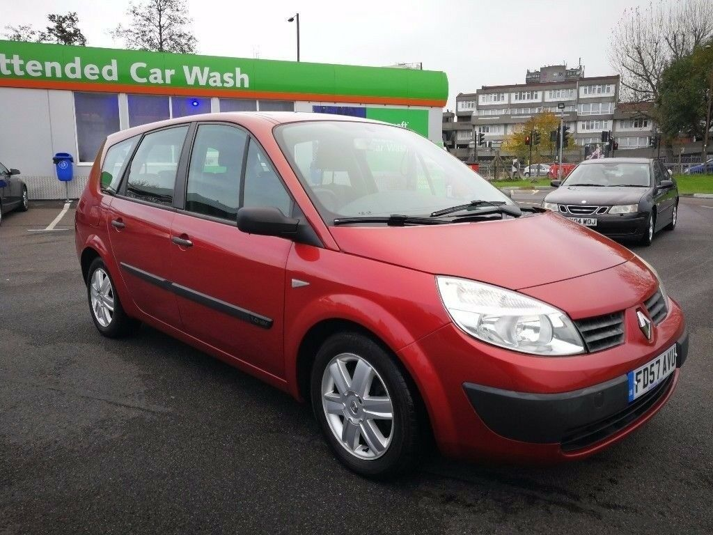 7 SEATER RENAULT GRAND SCENIC 1.6 MANUAL IN TOP CONDITION. LONG MOT. 2 KEYS