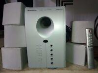 Home surround sound speaker system