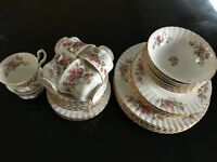 "Royal Albert ""Moss Rose"" Fine Bone China"