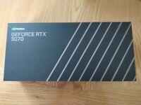 RTX Geforce 3070 Founders Edition FE Graphics Card GPU