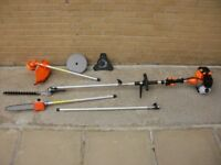 52cc Brand new 6in1 Garden Multi-tools, strimmer / hedge trimmer / chainsaw