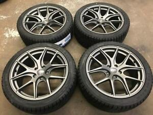 "18"" Avante Garde Style Audi Wheels and 245/40R18 Winter Tires"