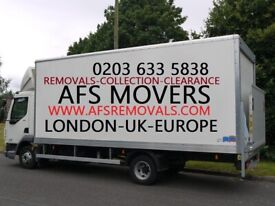 URGENT Moving Service House Office Removal CHEAP Man & Van Hire Waste Clearance & Collections