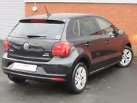 Volkswagen Polo SE TSI (black) 2014-09-30