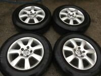 Volkswagen Touareg alloy wheels