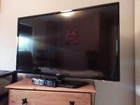 """LG 3D TV 42"""" 4 X 3D glasses"""