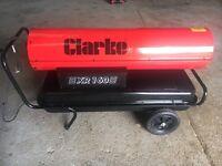 Clarke XR160 diesel/paraffin fired space heater 240v