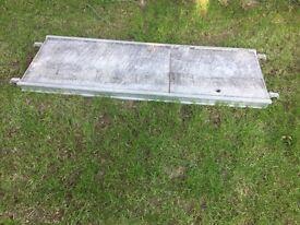 Boss Youngman 1.8 m Scaffolding Platform Deck with Trap Door
