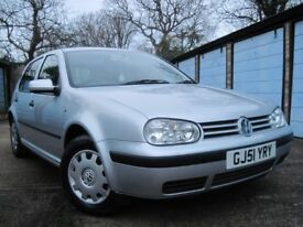 *** Golf mk4, 1.4, 11 stamps, 8mths mot, 116812, low miles***