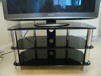 TV Stand for up to 42 inch. Levv 3 Shelf Universal