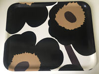 Marimekko Unikko large tray good used condition