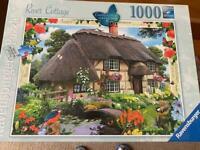 9 x Jigsaw puzzles. 1000 pieces