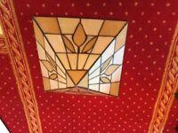 Lovely old Art Deco up light shade