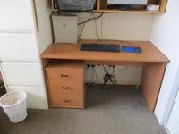 Computer desk/table with computer chair