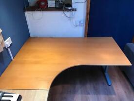 Large ikea corner desk