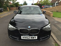 BMW 1 series 116i Sport Turbo Black