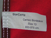 Starcamp Cameo caravan awning size 13 (950 to 975 cm) with matching annex