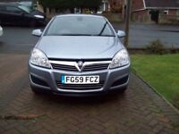VAUXHALL ASTRA 1.4 PETROL ONLY 59K (59 PLATE)