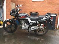 Lexmoto 125 motorbike