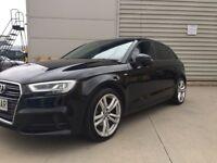 2017 (66) Audi A3 SE Facelift in Black - FULL AUDI A3 SLINE
