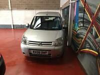 Citroen berlingo wheelchair access disabled mobility accessory motability wav ramp