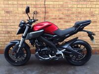Yamaha MT-125 125cc *IMMACULATE, FSH & LOW MILES*