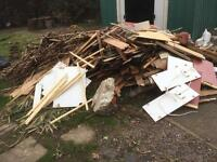 WANTED: Will Pay to Collect Wood, Garden & General Waste