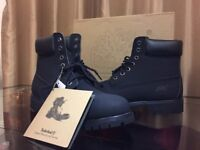 Timberland Boots Mens Black Size 9