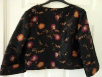 Embroidered Jacket by Highly Confidential, Size 12