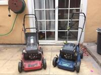 X2 Petrol Lawnmowers