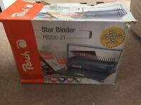 Peach Star Comb BINDER PB200-21- in box
