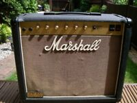"Marshall JCM800 Model 4010 1 x 12"" combo all valve electric guitar amplifier - '80s - England"