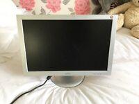 Two desktop monitors