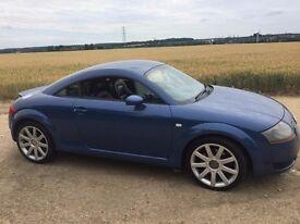 Audi TT Quattro 1.8 - 225bhp - 12 months MOT - 0 to 60 in 6.4 seconds - blue 99,000 miles
