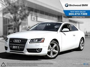 2011 Audi A5 2.0L Premium Plus Clean Carproof!