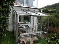 3 sided Greenhouse 1.9m x 2m.