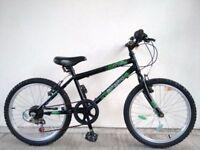 "(2641) 20"" 12"" SILVERFOX UTOPIA BOYS GIRLS MOUNTAIN BIKE BICYCLE Age: 7-9, 123-138 cm"