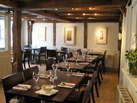 Popular local Italian Restaurant seeks experienced waiting staff