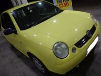 2002 special edition yellow volkswagon lupo 1.4s DRIVEAWAY OR DELIVERY AVAILABLE