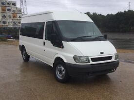 05 reg automatic Ford Transit 15 seater minibus,1 owner ,57000 miles