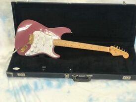 fender 1993 Special Edition Stratocaster - Burgandy Mist - Very Rare-