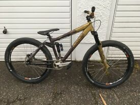 Kona Bass full suspension bike