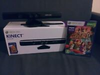 Official XBOX 360 Kinect Sensor Boxed With One Game VERY GOOD CONDITION Cheap